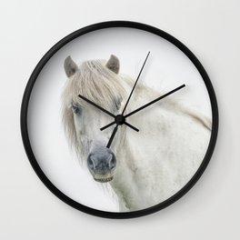 Horse eyes look at you Wall Clock