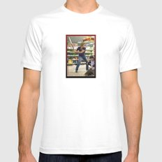 Tallahasee Baseball Card Mens Fitted Tee White MEDIUM