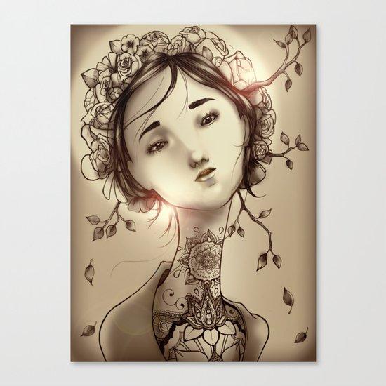 Moksha Canvas Print