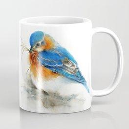 Eastern Bluebird Nesting Coffee Mug