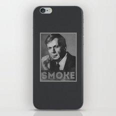 Smoke! Funny Obama Hope Parody (Smoking Man)  iPhone & iPod Skin
