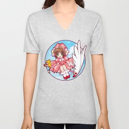 Sakura Kinomoto (Classic Dress) Unisex V-Neck