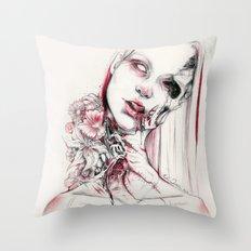 pollen Throw Pillow