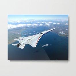 33. NASA's X-59 QueSST Airplane Takes Shape at Lockheed Martin Skunk Works Metal Print