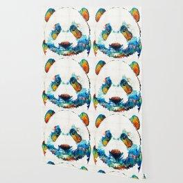 Colorful Panda Bear Art By Sharon Cummings Wallpaper