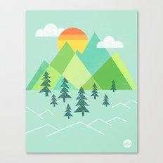Patchwork Pass Canvas Print