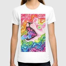 Glitterkitty - Acrylic Painting T-shirt