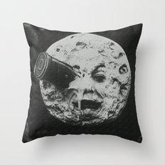 Georges Méliès A Trip To The Moon Throw Pillow