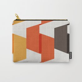 70s Paper Folds Large Carry-All Pouch