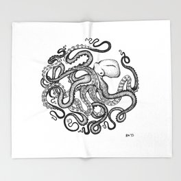 Octopus Throw Blanket
