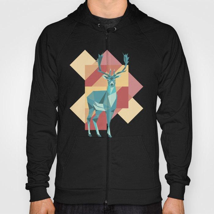 Origami Deer Hoody