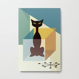 Schrodinger's cat Metal Print