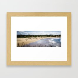 1 Mile Beach, NSW, Australia Framed Art Print