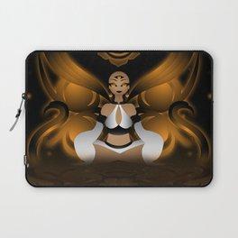 Inner Light: Spleen Chakra Laptop Sleeve