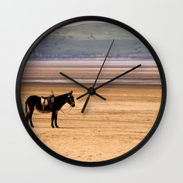 The Lost Donkey Wall Clock