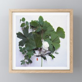 Homage to nature Framed Mini Art Print