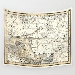 Pegasus Constellation Celestial Atlas Plate 12, Alexander Jamieson Wall Tapestry