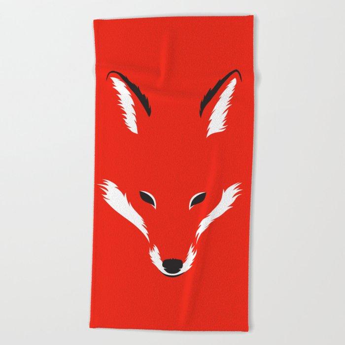 Foxy Shape Beach Towel