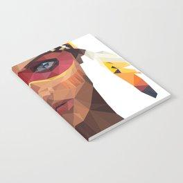 native america girl Notebook