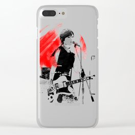 Japanese Artist Clear iPhone Case