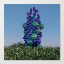 Bubbleflower Canvas Print
