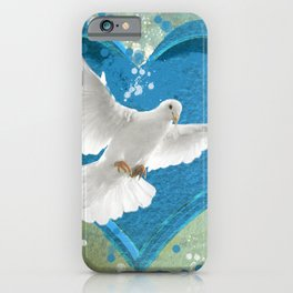 Bird of Peace and Love iPhone Case