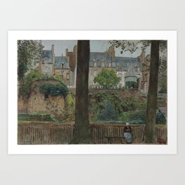 1928 · William FrederickYeames, On the Boulevards, Dinan Art Print
