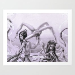 Divinity of Disorders Art Print