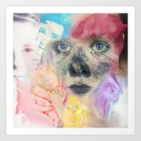 We live in the Passionate Places Art Print