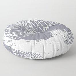 slinky grey Floor Pillow
