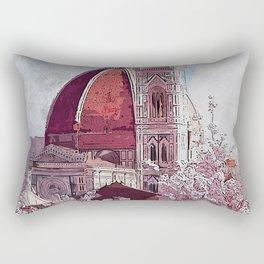 Florence Cathedral Rectangular Pillow
