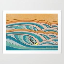 Joe Vickers Jonas Claesson Collab 2 Art Print