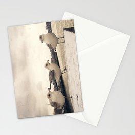 One legged friend - Hoboken, NJ Stationery Cards
