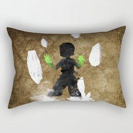 Get Bent :: Earth Rectangular Pillow