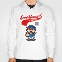 earthbound Hoodies featuring Earthbound & Down by Jango Snow
