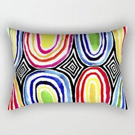 Tribal Gem Rectangular Pillow