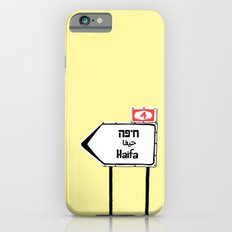 Haifa This Way iPhone 6 Slim Case