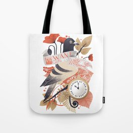 I Want The World To Stop Tote Bag