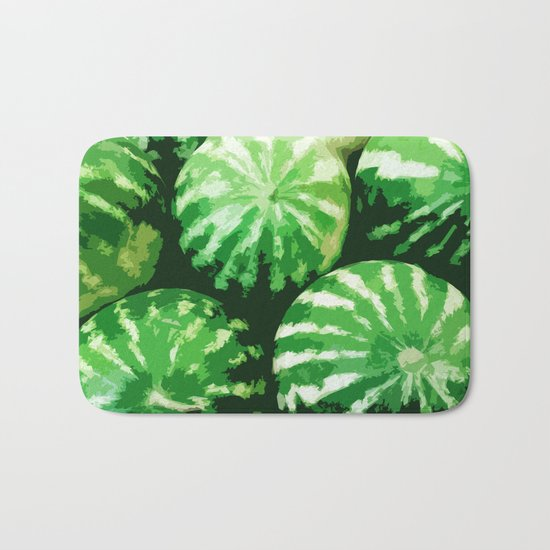 Watermelons Bath Mat