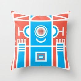 Mindfool Creation Throw Pillow