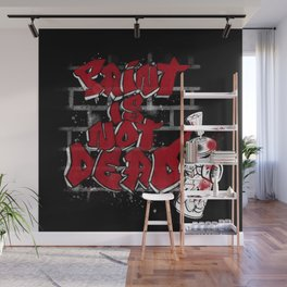 Paint is not Dead Wall Mural