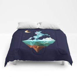 unicorn in the universe Comforters