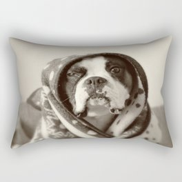 Obi Wan (Buck the world's most lovable boxer dog) Rectangular Pillow