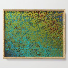 Colorful Corroded Background G292 Serving Tray