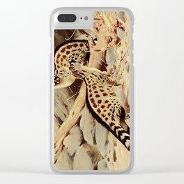 Kuhnert, Friedrich Wilhelm (1865-1926) - Wild Life of the World 1916 v.3 (Dongola Genet) Clear iPhone Case