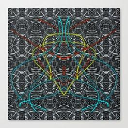 Yoga Z Canvas Print