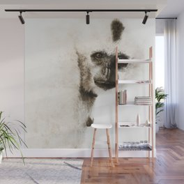 Crested Gibbon Wall Mural