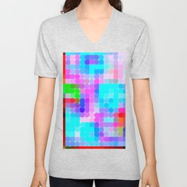Re-Created Cypher 4.0 by Robert S. Lee Unisex V-Neck