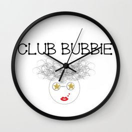 Club Bubbie Wall Clock