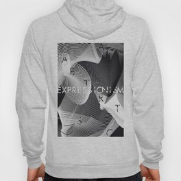 History of Art in Black and White. Expressionism Hoody